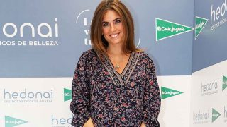 Lourdes Montes, durante la presentación de  'Los Secretos de Belleza de Hedonai'