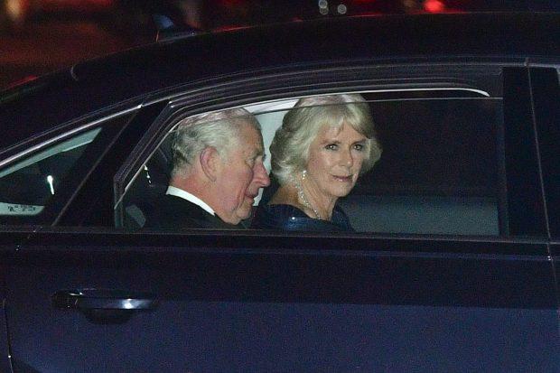 Los reyes Juan Carlos y Sofía asisten al cumpleaños de Carlos de Inglaterra