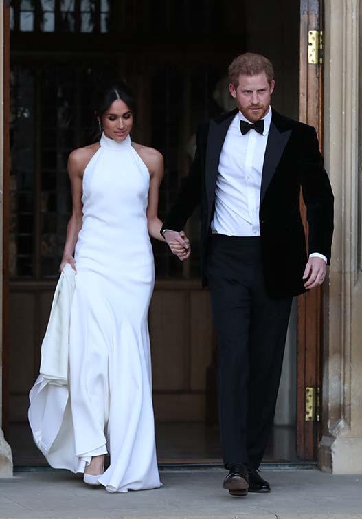 Los Duques de Sussex el día de su boda / Gtres