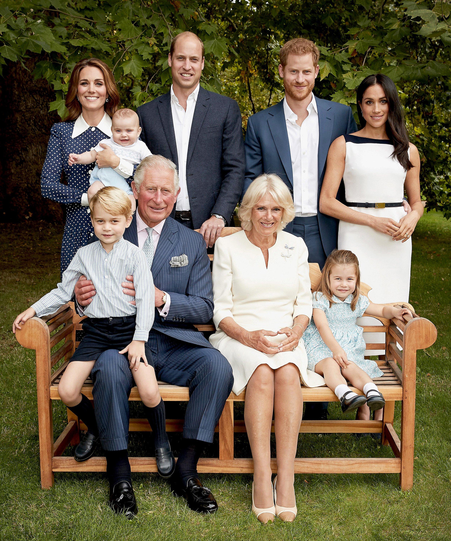 Posado de la familia del Príncipe Carlos / Gtres