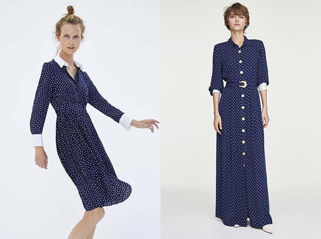 El modelo de Zara a la izquierda y el de Uterqüe a la derecha / Zara y Uterqüe