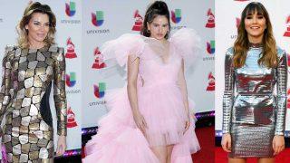Mar Flores, Rosalía y Aitana en los Grammy Latino / Gtres