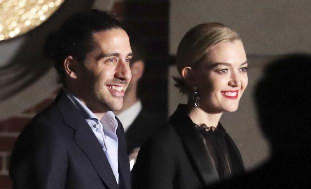 Marta Ortega and Carlos Torretta