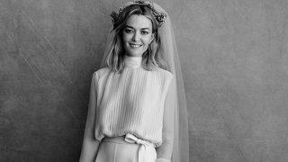 Marta Ortega vestida de novia / Peter Lindbergh
