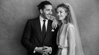 Primera imagen de casados de Marta Ortega y Carlos Torretta / Peter Lindbergh