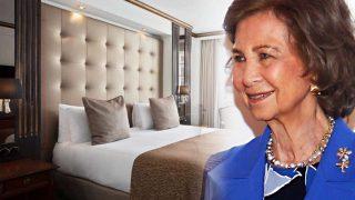 Entramos en el hotel de la reina Sofía en Londres