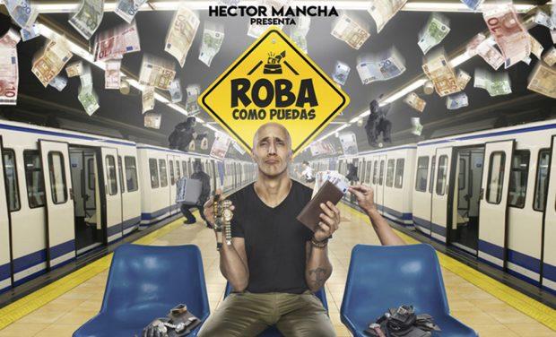 #PlanesLook   De profesión, ladrón: Héctor Mancha tiene las claves para ser el mejor carterista
