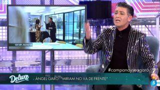 Ángel Garó, en 'Sábado Deluxe' / Telecinco.