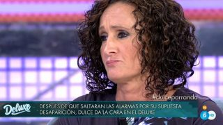 Dulce, en 'Sábado Deluxe' / Telecinco.