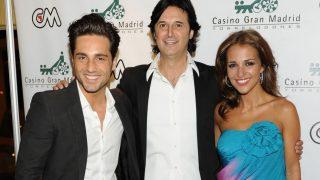 Poty, Paula Echevarría y David Bustamante, en una fotografía antigua / Gtres.