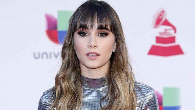 Aitana Ocaña durante la ceremonia de los Grammy Latinos