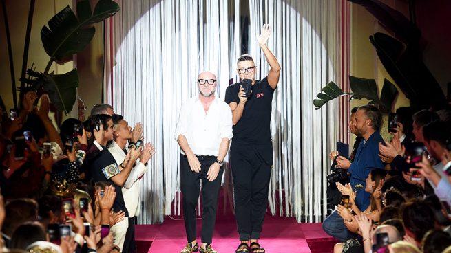 Cierre de desfile de Dolce & Gabbana / Gtres