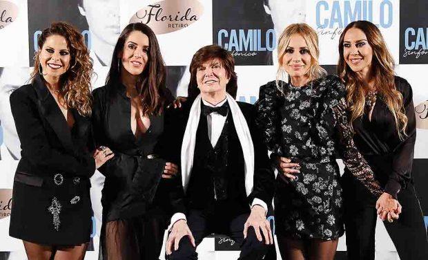 Camilo Sesto con Mónica Naranjo, Marta Sánchez, Pastora Soler y Ruth Lorenzo