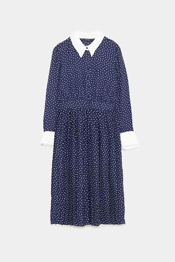 Vestido de Zara (39.95€) / Gtres