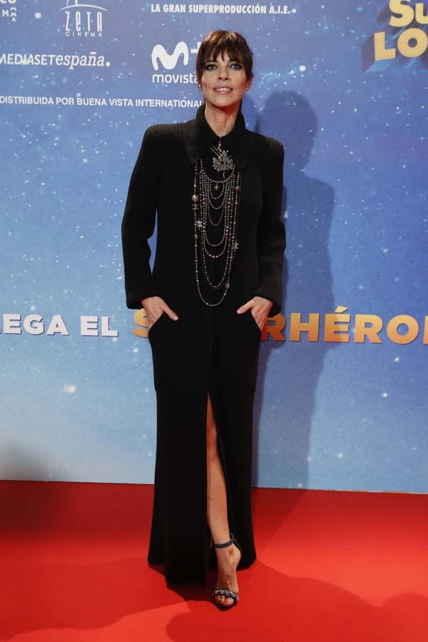 Maribel Verdu estreno Superlopez mejor y peor vestidas