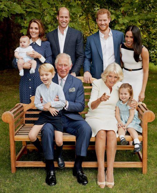 Fotografía oficial por el 70 cumpleaños del príncipe Carlos.