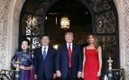 Peng Liyuan y Melania Trump en Florida en 2017