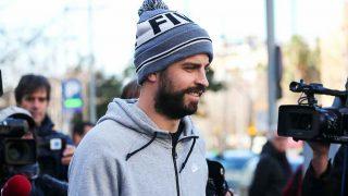 Gerard Piqué, llegando a su juicio en Barcelona / Gtres