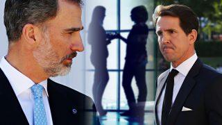 Felipe y Pablo, los daños colaterales del enfrentamiento de la reina Letizia y Marie Chantal