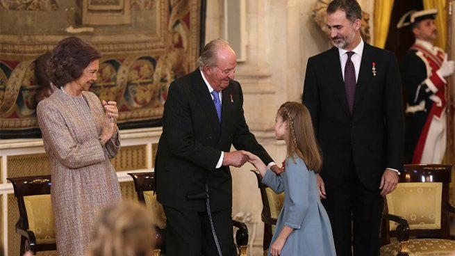 Familia Real rey Juan Carlos