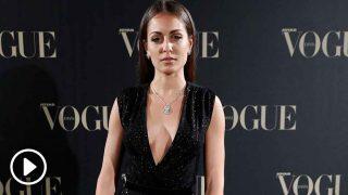 Hiba Abouk, durante el evento de joyas Vogue / Gtres