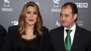 La político Susana Díaz y su esposo, José María Moriche / Gtres