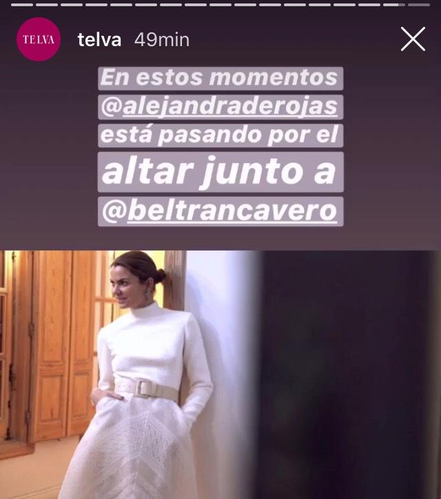 32cd2323ca Alejandra de Rojas dinamita las apuestas y se convierte en la novia más   cool  ...