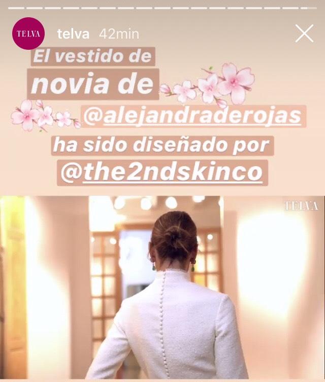 7d9ff621ba ... Alejandra de Rojas dinamita las apuestas y se convierte en la novia más   cool