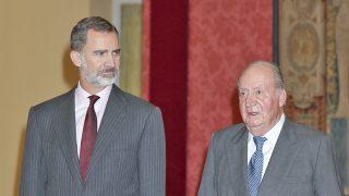 Los reyes don Juan Carlos y don Felipe / Gtres
