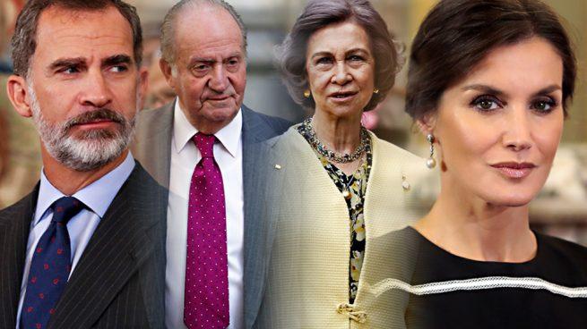 Familia real Reyes Felipe Letizia Juan Carlos Sofía Constitución