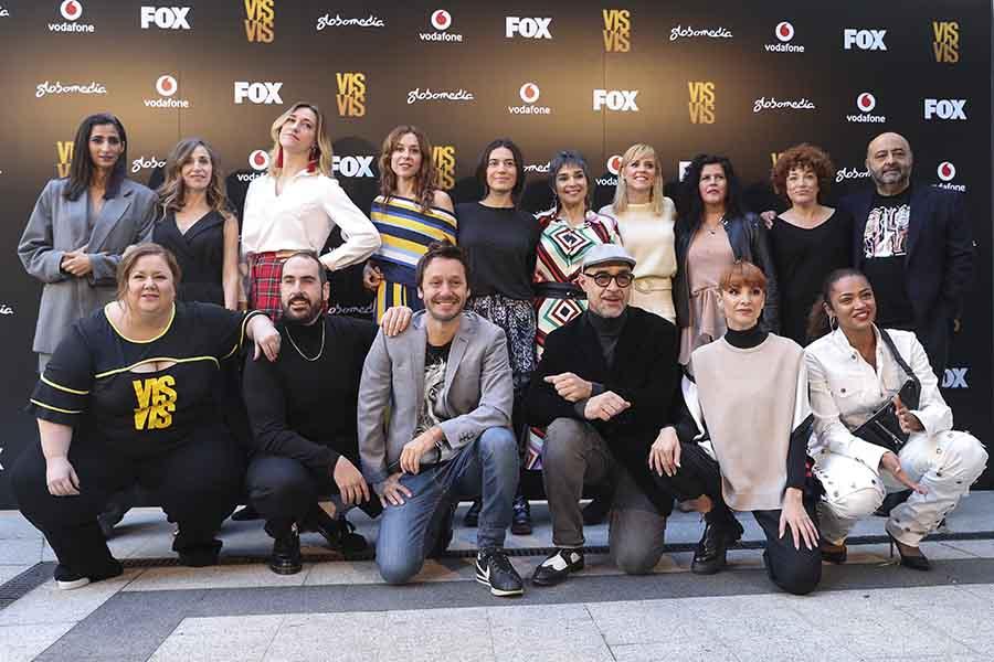 Elenco de 'Vis a vis' en la presentación de la cuarta temporada / GtresElenco de 'Vis a vis' en la presentación de la cuarta temporada