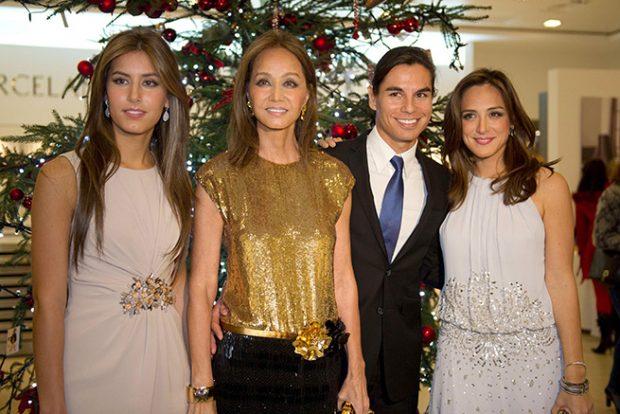 Julio José Iglesias, Isabel preysler, Tamara Falcó, Ana Boyer