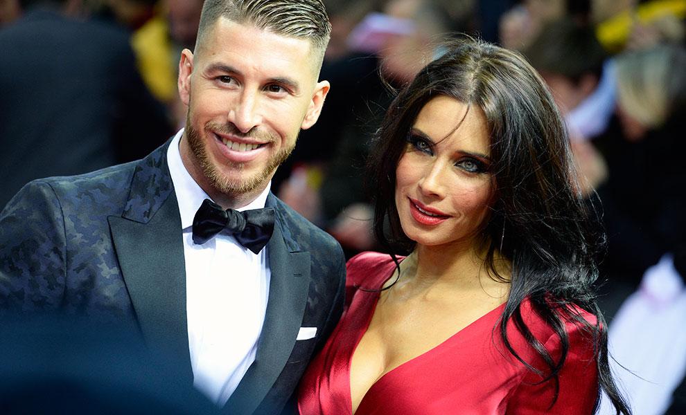Sergio Ramos y Pilar Rubio balón de oro
