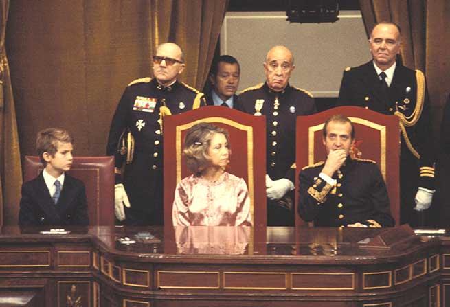 reina sofia estilo constitucion 1978