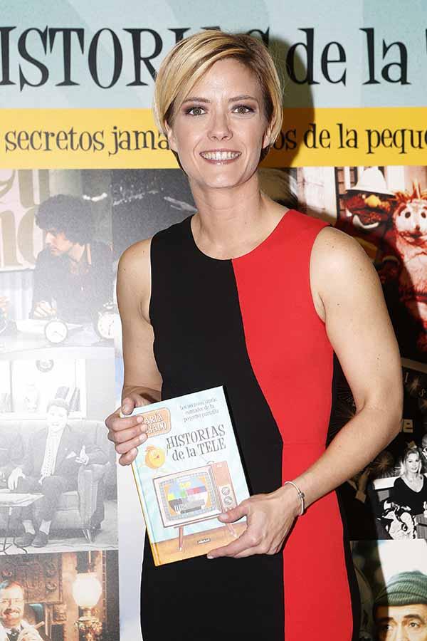 María Casado durante la presentación de su libro
