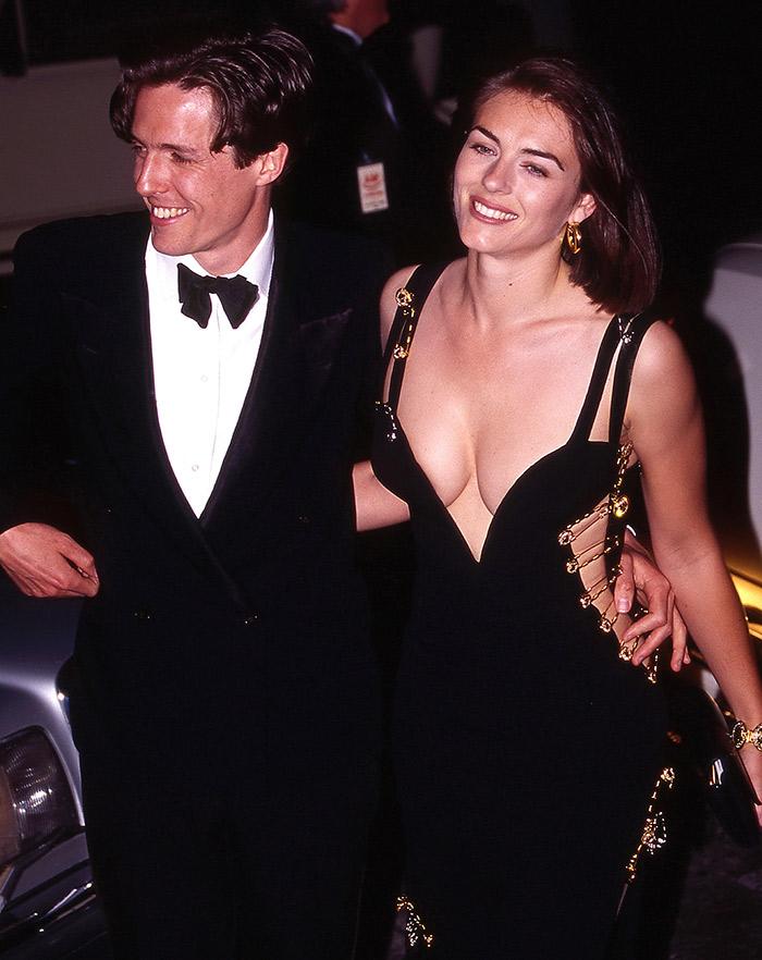 Liz Hurley Jennifer Lopez Versace Vestido