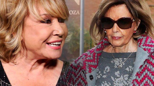 María Teresa Campos y Mila Ximénez