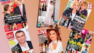 Galería: portadas de las revistas del corazón