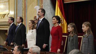 La Familia Real, al completo / Gtres.