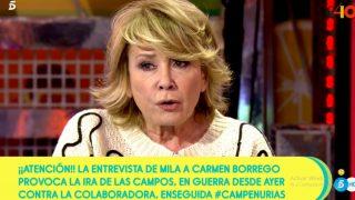 Mila Ximénez, en 'Sálvame' / Telecinco.