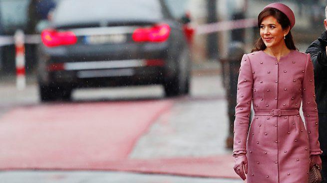 Mary Donaldson emula el look más icónico de Jackie Kennedy