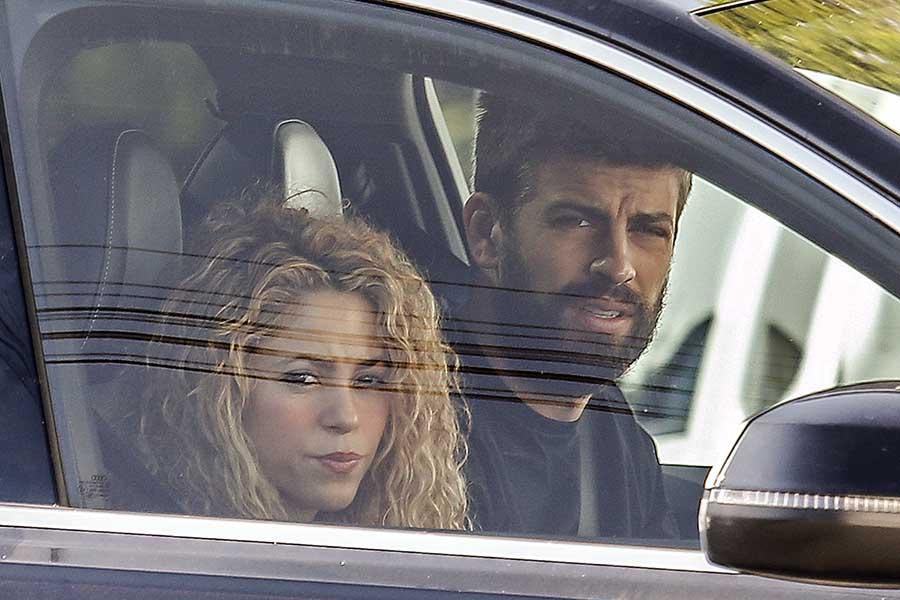 Shakira y Piqué en una imagen de archivo