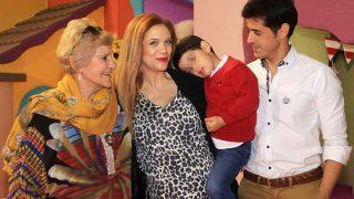 Carmen Bazán, Víctor Janeiro, Beatriz Trapote y su hijo / Gtres