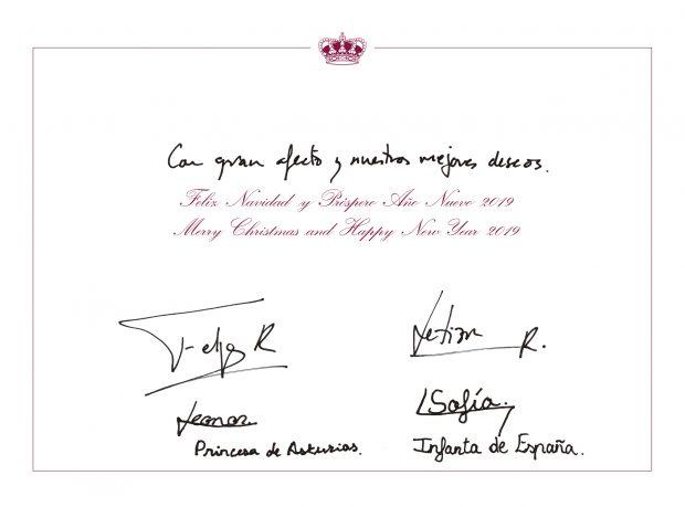 El mensaje oculto de la felicitación navideña de los Reyes