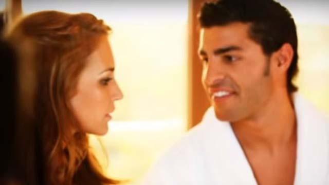 Captura de una escena del videoclip de David Bustamante