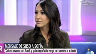 Aurah Ruiz durante su entrevista en 'El programa de Ana Rosa' /Mediaset