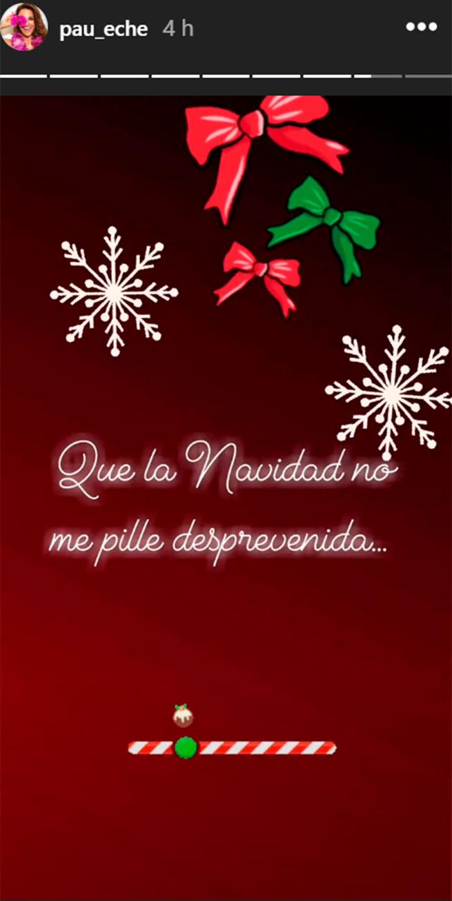 paula echevarría navidad