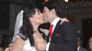 Irene Villa y Juan Pablo Lauro el día de su boda / Gtres