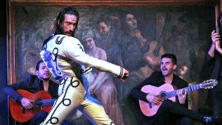 Eduardo Guerrero en una imagen del espectáculo / Corral de la Morería