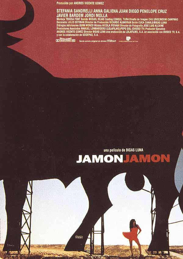 Cartel de la película 'Jamón Jamón'